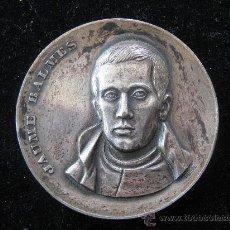 Trofeos y medallas: MEDALLA JAUME BALMES EN RELIEVE 1969 FILOSOF PERIODISTA I POLITIC 1810-1848 DIAMETRO 5 CENT. Lote 29764771