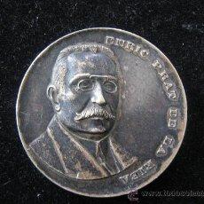 Trofeos y medallas: MEDALLA ENRIC PRAT DE LA RIBA EN RELIEVE 1972 AL SENY ORDENADOR CATALUNYA 1870-1917 DIAMETRO 5 CENT. Lote 29764915