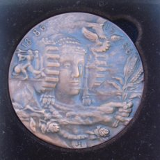 Trofeos y medallas: 100 AÑOS DE CÁMARAS DE COMERCIO, INDUSTRIA Y NAVEGACIÓN DE ESPAÑA . MADRID 1987. J. HERNANDE.. Lote 29935709