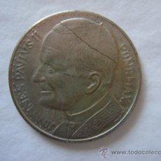 Moneda conmemorativa del primer viaje de Juan Pablo II a España