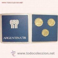 Trofeos y medallas: MUNDIAL DE FUTBOL ARGENTINA 78. Lote 103842450