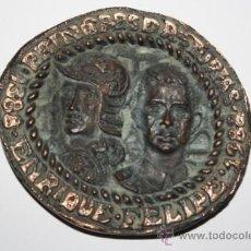 Trofeos y medallas: MEDALLA VI CENTENARIO PRINCIPADO DE ASTURIAS.1388-1988.NUMERADA Y FIRMADA.. Lote 31589193