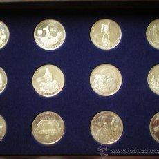 Trofeos y medallas: 12 MONEDAS CENTENARIO REAL MADRID. Lote 31782627