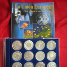 Trofeos y medallas: UNION EUROPEA. SUS PAISES, SUS MONEDAS. Lote 31783688