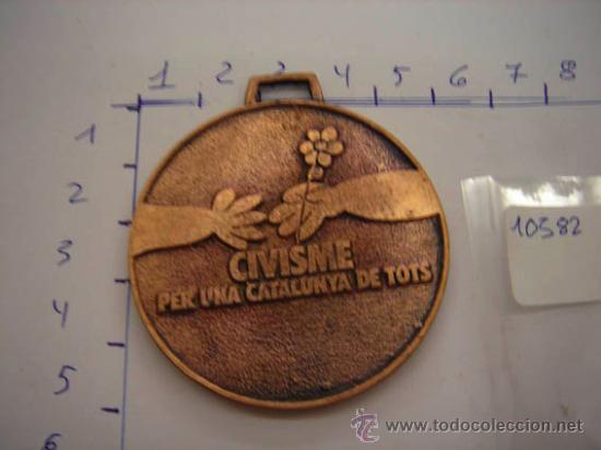 MEDALLA DE BRONCE GENERALITAT DE CATALUNYA PREMI A LA PARTICIPACIÓ. (Numismática - Medallería - Trofeos y Conmemorativas)