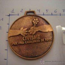 Trofeos y medallas: MEDALLA DE BRONCE GENERALITAT DE CATALUNYA PREMI A LA PARTICIPACIÓ.. Lote 32457351