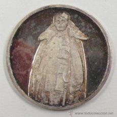 Trofeos y medallas: 1 OCTUBRE 1936, FRANCO INVESTIDO JEFE DE ESTADO. 4 CM DIÁMETRO. Lote 33060295