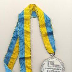 Trofeos y medallas: MEDALLA SAARLOUIS ALEMANIA CIUDAD DE CAMPEONES DIÁMETRO: 60 MM. CON CINTA.. Lote 32812032