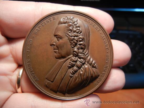 MEDALLA FRANCESA. PREMIO DE LA ACADEMIA FRANCESA. 1893. (Numismática - Medallería - Trofeos y Conmemorativas)