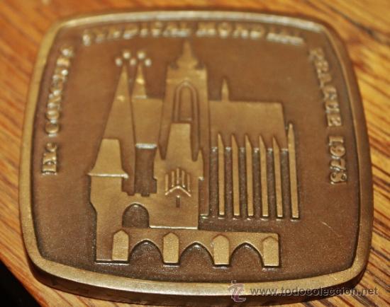 MEDALLON CONMEMORATIVO (Numismática - Medallería - Trofeos y Conmemorativas)