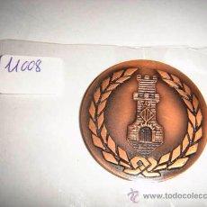 Trofeos y medallas: MEDALLA DE BRONCE CONMEMORATIVA PATRONATO MUNICIPAL DE CASTELLDEFELS EXPO. FILATÉLICA 1971. Lote 34134895