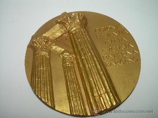 Trofeos y medallas: MEDALLA COLONIA FAVENTIA IVLIA AVGVSTA PATERNA BARCINO. - Foto 2 - 56193924