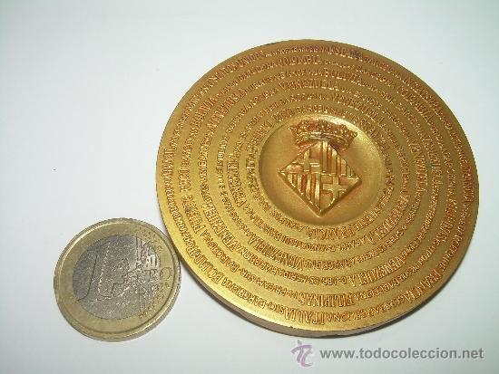 Trofeos y medallas: MEDALLA COLONIA FAVENTIA IVLIA AVGVSTA PATERNA BARCINO. - Foto 4 - 56193924