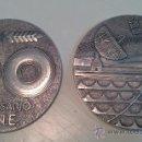 Trofeos y medallas: MONEDAS.50 ANIVERSARIO. C.T.N.E - COMPAÑÍA TELEFÓNICA NACIONAL ESPAÑOLA. Lote 34869426