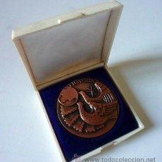 Trofeos y medallas: MEDALLA CONMEMORATIVA CON ESTUCHE. FILATELIA.. Lote 35444064