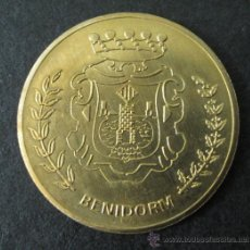 Trofeos y medallas: MEDALLA BENIDORM. Lote 35560485