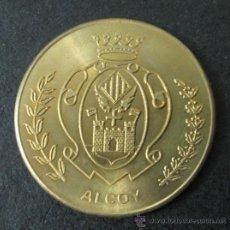 Trofeos y medallas: MEDALLA ALCOY. Lote 35560488