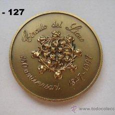 Trofeos y medallas: MEDALLA DE MANO DEL 150 ANIVERSARIO DEL CÍRCULO DEL LICEO 1847 - 1997. ENVÍO CERTIFICADO GRATUITO.. Lote 35916397