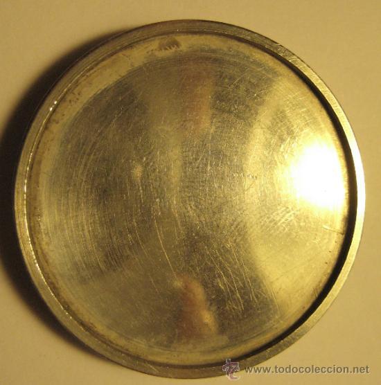 Trofeos y medallas: MEDALLA HOMENAJE AD JAIME LLOBERA. PLATA. DIÁMETRO 4 CM. PESO: 15 GR - Foto 2 - 35953216