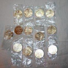 Trofeos y medallas: LOTE DE 13 MONEDAS CONMEMORATIVAS DE LAS OLIMPIADAS. Lote 36107404