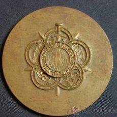 Trofeos y medallas: MEDALLA DE BRONCE MILITAR CONSEIL INTERNATIONAL DU SPORT MILITAIRE PAIM STAGE DE MADRID 1963 6CMS. Lote 36261818