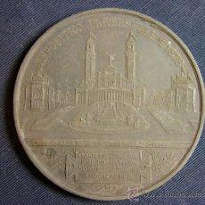 Trofeos y medallas: MEDALLA DE METAL MASSONNET BERARD EXPOSITION UNIVERSELLE DE 1878 PALAIS DU TROCADERO 5CMS. Lote 36261995
