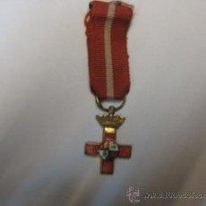 Trofeos y medallas: MEDALLA ESMALTADA CONMEMORATIVA AL MERITO MILITAR. DISTINTIVO ROJO.. Lote 36409867