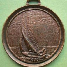 Trofeos y medallas: MEDALLA CLUB NÁUTICO. VELA LATINA CANARIA. LAS PALMAS. AÑO 1982. Lote 36602863