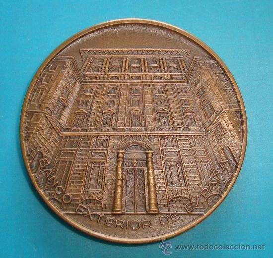 MEDALLA BANCO EXTERIOR DE ESPAÑA, BICENTENARIO DE LA PUERTA DE ALCALA AÑOS 1778 - 1978 (Numismática - Medallería - Trofeos y Conmemorativas)