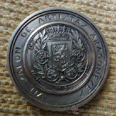 Trofeos y medallas: MEDALLA EXP. ARTISTAS ARAGONESES. Lote 36789164