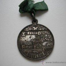 Trofeos y medallas: MEDALLA KONGRESO DE ESPERANTO 1933 . Lote 36820853