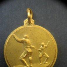 Trofeos y medallas: MEDALLA ESGRIMA . ITALIA. 1957.. Lote 37451381