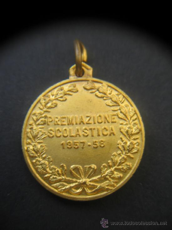 Trofeos y medallas: Medalla esgrima . Italia. 1957. - Foto 2 - 37451381
