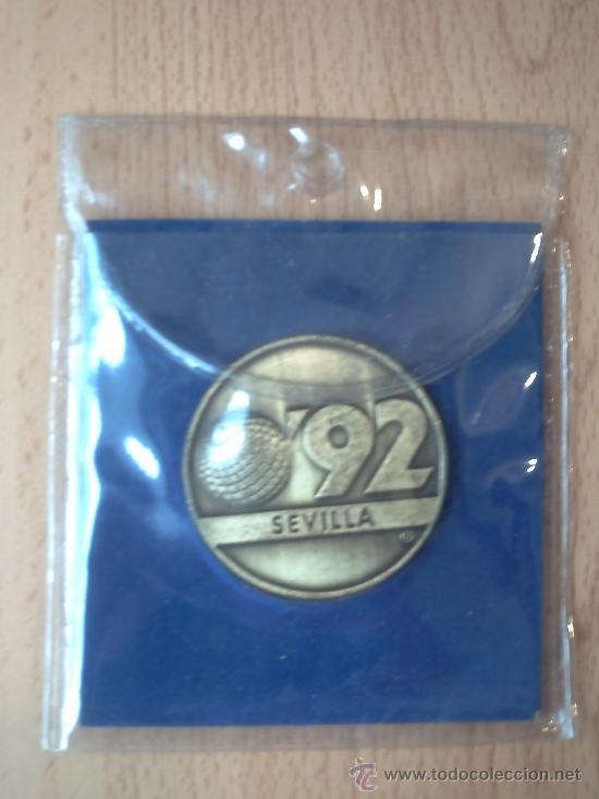 MEDALLA EXPO 92 (Numismática - Medallería - Trofeos y Conmemorativas)
