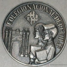 Trofeos y medallas: BARCELONA 1974 COLEGIO NACIONAL PERE VILLA 66 G 5 CM. Lote 39567572