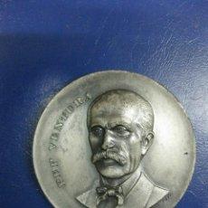 Trofeos y medallas: MEDALLA PEP VENTURA. INAUGURACIÓ MONUMENT FOMENT DE LA SARDANA. FIGUERES 1972.. Lote 39720060