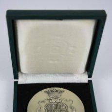 Trofeos y medallas: M-062. MEDALLA EN METAL PLATEADO CONMEMORATIVA. CON ESTUCHE. 1978. . Lote 39920250