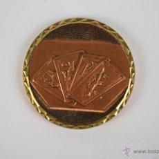 Trofeos y medallas: M-091. MEDALLA EN BRONCE CTO. PODRIDA 3ª CLAS. PICADERO 11-3-83.. Lote 39952197