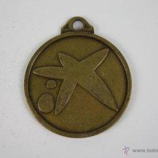 Trofeos y medallas: M-103. MEDALLA EN METAL CAIXA DE PENSIONS LA CAIXA. AÑOS 70. . Lote 39969189