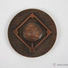 Trofeos y medallas: M-110. MEDALLA EN BRONCE. E.B 75. BARCELONA 25 JULIO 3 DE AGOSTO 1975. . Lote 39969569
