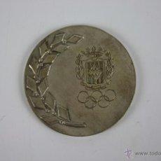 Trofeos y medallas: M-123. MEDALLA ENMETAL PLATEADO. II SEMANA PROMOCION DEPORTIVA. . Lote 39970296