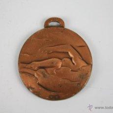 Trofeos y medallas: M-137. MEDALLA EN BRONCE. CURSET DE NATACIO 1981. . Lote 39971395