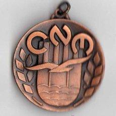 Trofeos y medallas: MEDALLA CLUB NATACIÓ MONTJUÏC TROFEU KIM TAULER ( SUBAQUÀTIQUES ) . . Lote 40007098