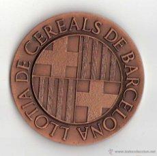 Trofeos y medallas: MEDALLA LLOTJA DE CEREALS DE BARCELONA 1984 . . Lote 40007622