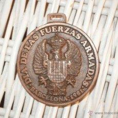 Trofeos y medallas: DIA DE LAS FUERZAS ARMADAS BARCELONA 1981. Lote 40772598