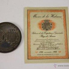 Trophies and Medals - M-224 - MUSEO DE LA CIUDAD LA HABANA - PALACIO DE GOBIERNO Y CASA CAPITULAR - BICENTENARIO 1776-1976 - 40924727