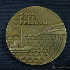 Trofeos y medallas: MEDALLA DE BRONCE VIGIL SUPER PELAGUM COMPAÑÍA TELEFÓNICA NACIONAL DE ESPAÑA 1977. Lote 40987795