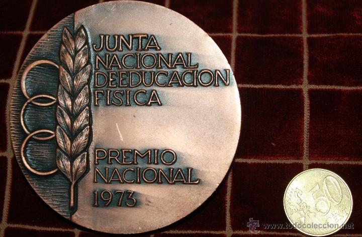 JUNTA NACIONAL DE EDUCACION FISICA PREMIO NACIONAL (Numismática - Medallería - Trofeos y Conmemorativas)