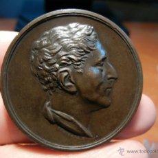 Trofeos y medallas: MEDALLA INGLESA CONMEMORATIVA. 1838. FUNDACIÓN SOCIEDAD NUMISMÁTICA DE LONDRES.. Lote 41488108