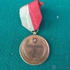 Trofeos y medallas: MEDALLA COMMEMORATIVA 1969. Lote 41566728